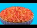 Пирог С Розами Из Яблок: Простейший Рецепт Роскошного Десерта