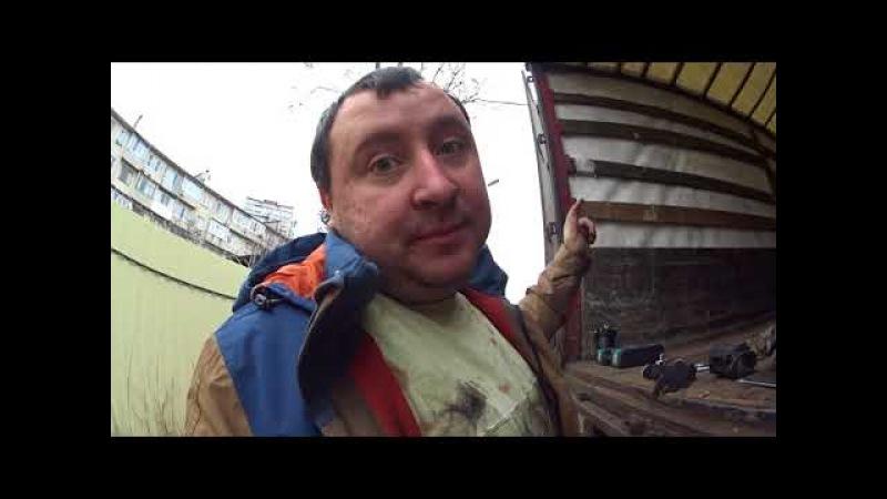 Дальнобой по России 47 Ремонт водопомпы,подвожу тормоза