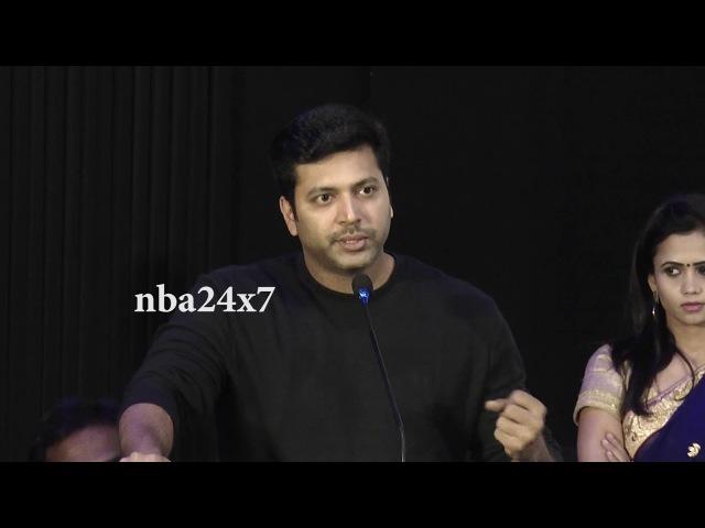 Tik Tik Tik Audio Launch | Jayam Ravi | Happy to be part of India's First Space Film | nba 24x7