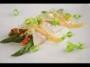 Molecular Gastronomy Bechamel Cannelloni