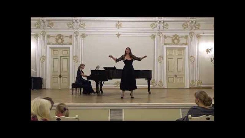 Elizaveta Bokova Vivaldi La Griselda Aria Agitata da due venti Елизавета Бокова Ария Гризельды