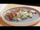 Немецкий Мужской салат с копченой рыбой Простой рецепт для настоящих мужчин