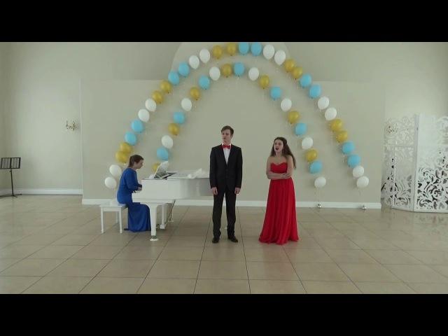 15 Б А Александров Дуэт Яринки и Андрейки Свадьба в Малиновке