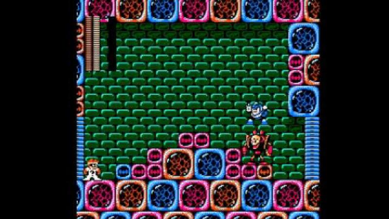 (Nintendo) Riddler's Escape From Arkham (Megaman 3 Rom Hack) Part 9 - Doc Robots