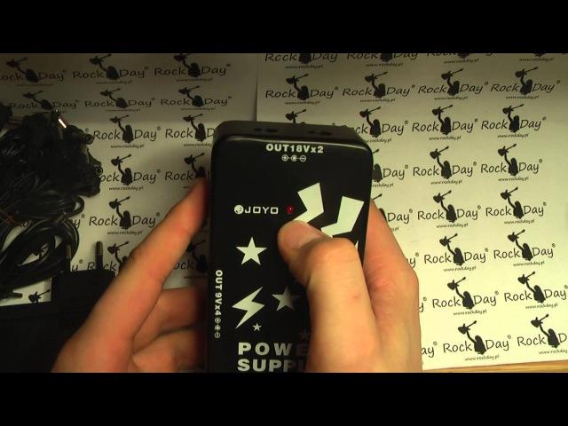 Joyo JP-01 JP 01 Multi Power Supply zasilacz do efektów gitarowych - RockDay Pietraszek