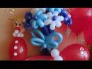 Комплект из воздушных шаров к выписке из роддома