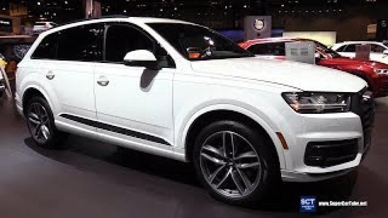 2018 Audi Q7 Quattro - Exterior Interior Walkaround - 2018 Chicago Auto Show