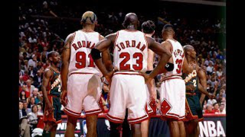 1996 NBA Finals Game 6 Chicago Bulls vs Seattle SuperSonics Hardwood Classics