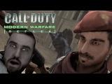 Modern Warfare 1 на Nintendo Wii Божественный ломанный русский и собаки! D