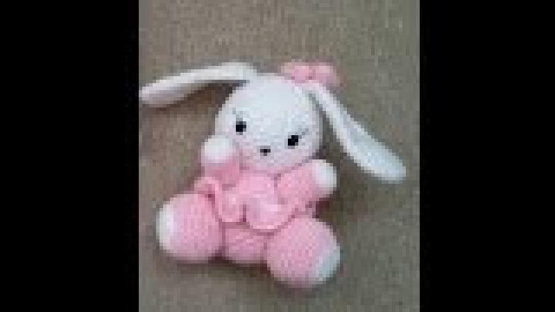 (Amigurumi ) Örgü Oyuncak Sevimli Tavşan Yapımı 2 (Crochet Amigurumi Cute Rabbit 2)
