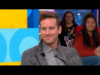 Armie Hammer dishes on 'Call Me by Your Name'
