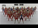 All Ultraman Transformations 1966-2016