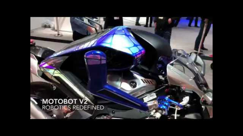 Yamaha's MOTOROiD and MOTOBOT Ver 2 get U.S. Debut at CES®