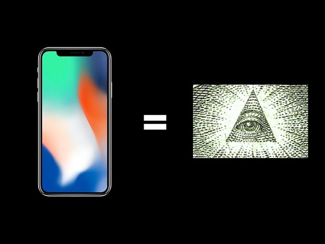 IPHONE X - ИЛЛЮМИНАТ!?