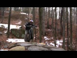 Aaron Chase Riding the New Pivot Cycles LES Fat Bike