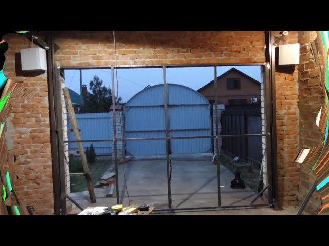 Самые лучшие ПОДЪЁМНЫЕ ворота в мире. The best gates (garage doors) in the world