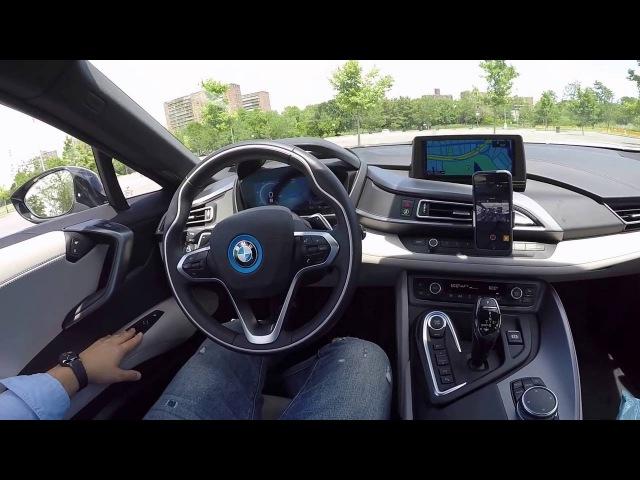 BMW i8 Детальный обзор салона. Detailed Interior Review in Russian