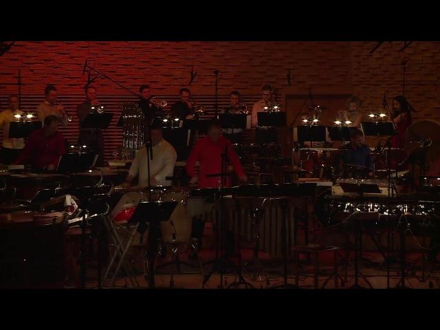 Отрывок из концерта Ансамбля ударных