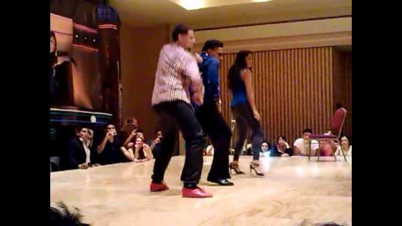 Eddie Torres Eddie Torres Jr y Shani Talmor en FSF