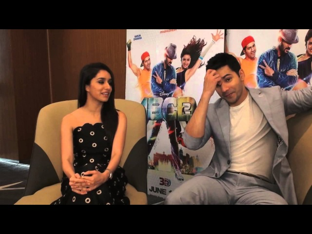Varun Dhawan and Shraddha Kapoor's on screen chemistry