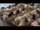 КЛЕНОВЫЙ ПЕКАН   слоеная выпечка плетенка с ореховой начинкой