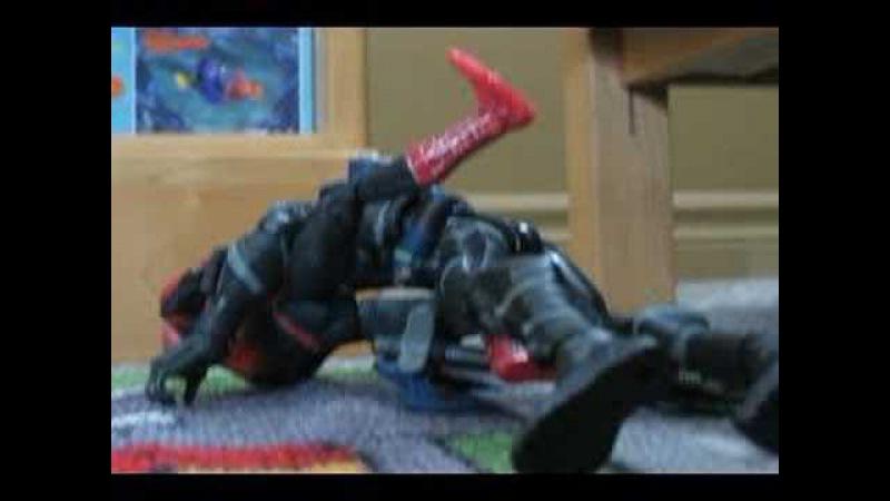 Les Aventures de Spiderman stopmotion