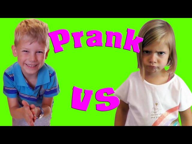 вредные детки плохие малыши новые пранки над сестрой и братом Brothers and Sisters Sibling Prank