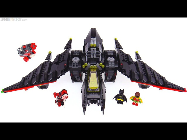 LEGO Batman Movie: The Batwing set review! 70916