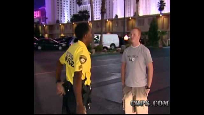 Failure to Comply, Sgt. Tom Jenkins, COPS TV Show