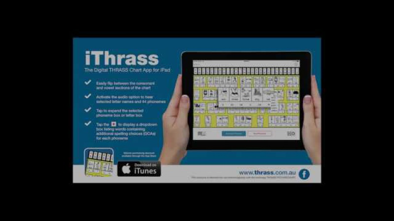 Using the iThrass App to Develop Phonemic Awareness