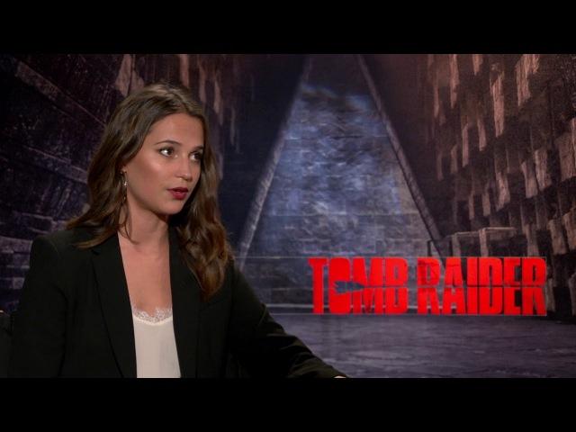Alicia Vikander Generic Junket Interview