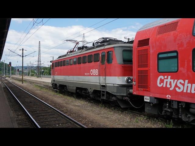 ÖBB 1142 611 am REX 1631 | Wien Hütteldorf [4k]