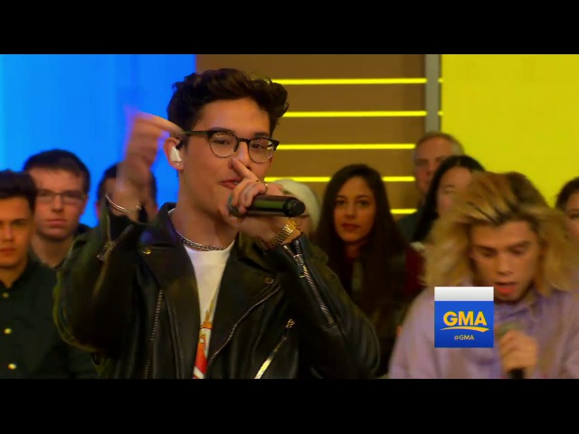 PrettyMuch performs No More live on GMA