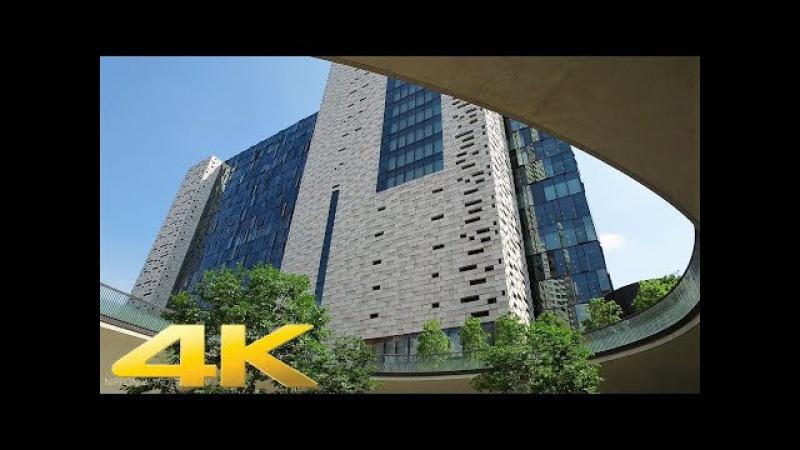 Walking around Eastside Square Shinjuku, Tokyo - Long Take【東京・新宿イーストサイドスクエア】 4K