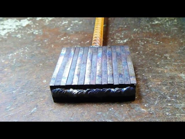 Wild Damascus steel Making a blade