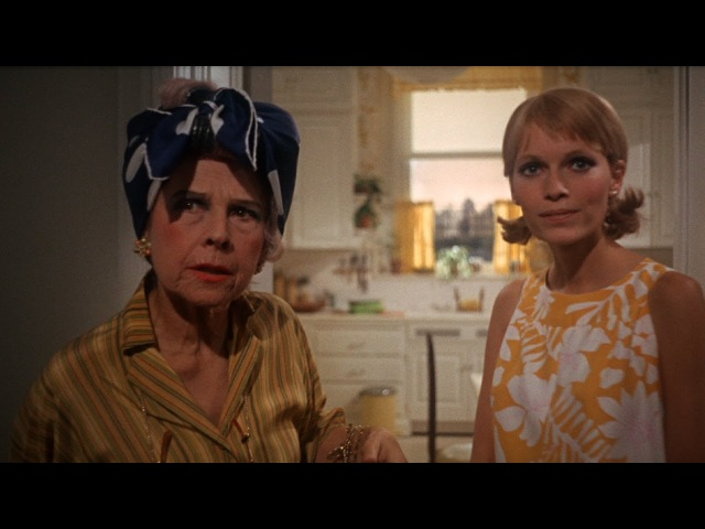 Enter Minnie Castevet in Rosemary's Baby