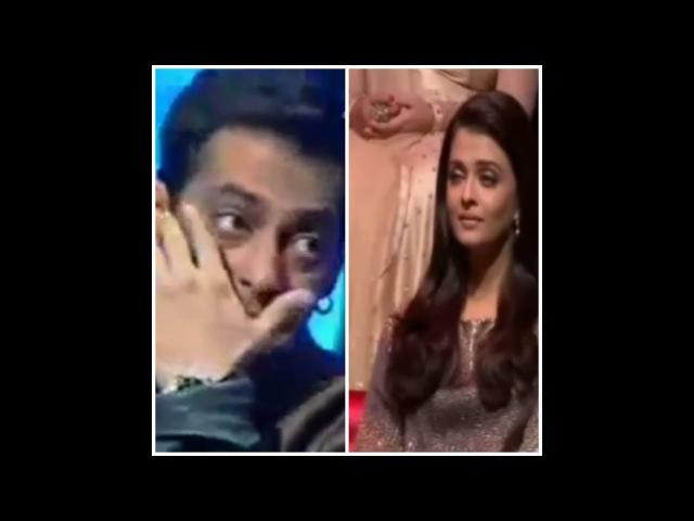 Salman Khan Aishwarya Rai Cry at same song on live TV Show   Tadap tadap ke
