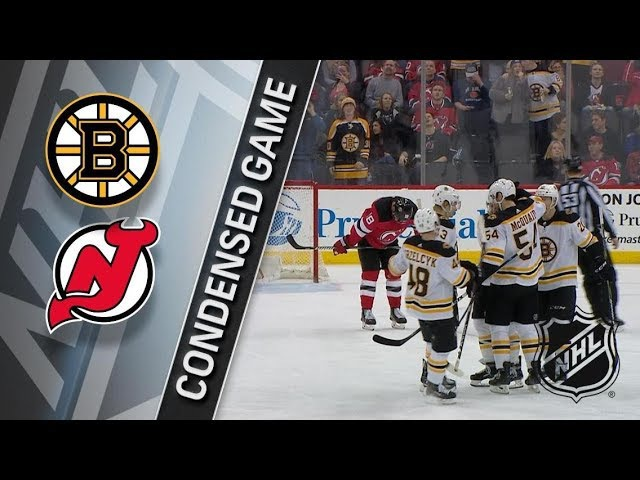 Boston Bruins vs New Jersey Devils – Feb. 11, 2018 | Game Highlights | NHL 2017/18. Обзор