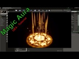 Magic Aura Effect - Particle System - UE4 Tutorial