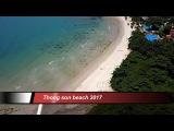 Thong son beach 2017  Choeng mon  Koh Samui  Thailand  overflown with my drone