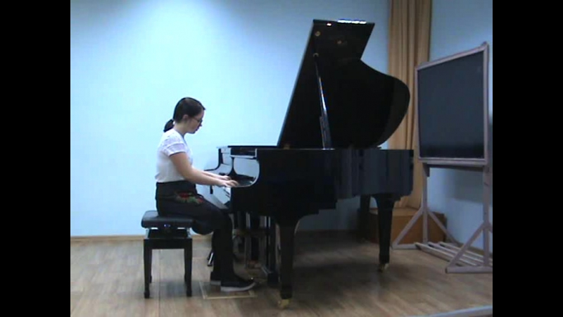 Нина Зырянова Моцарт соната c dur