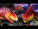 LinkoGame Сильнейший Аллозавр Каронотавр и Тираннотитан Jurassic World The Game
