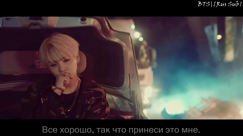 [Rus Sub] Agust D 'give it to me' MV