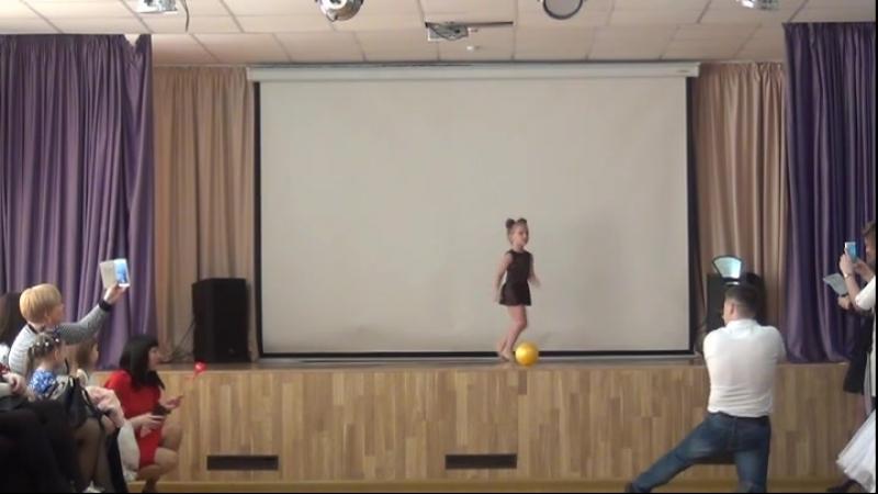 Весенний Бал 2018 MIO BALLO. Мишка Гумми Бер. Художественная гимнастика