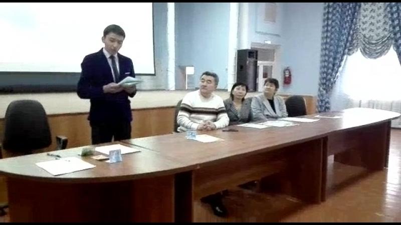 Байкаудың бірінші орын иесі Туркістан қаласы №12 орта мектептің окушысы Тасболатов Сүйіндік.