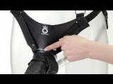 Фаллопротез King Cock 11 Hollow Strap-On Suspender System