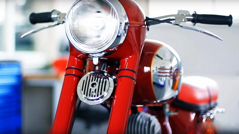 Реставрация мотоцикла JAWA 353. Мотоателье MOTOREN