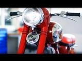 Реставрация мотоцикла JAWA 353. Мотоателье