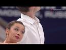 European Championships 2018. Pairs - SP. Lola ESBRAT / Andrei NOVOSELOV