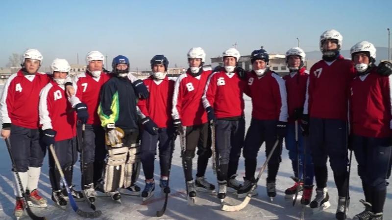 Сборная команда Хоринского района по хоккею с мячом